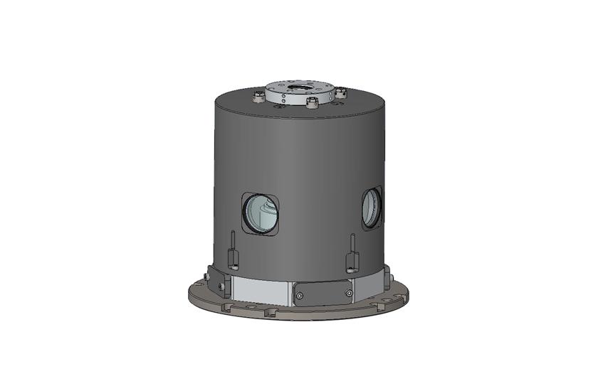 optical cryostat Long WD Vacuum Objective Shroud 2