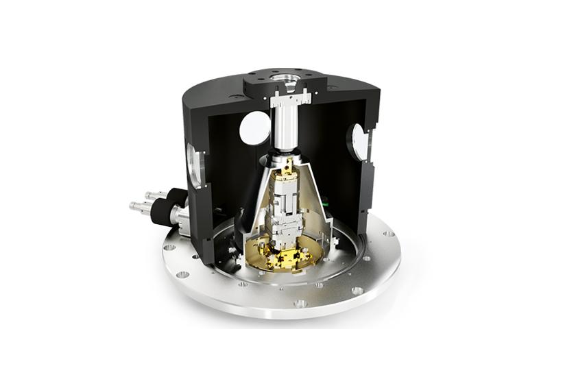 optical cryostat Vacuum Objective Shroud 3