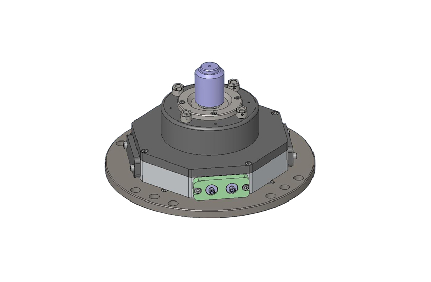 optical cryostat RT Objective Short WD with LCCC