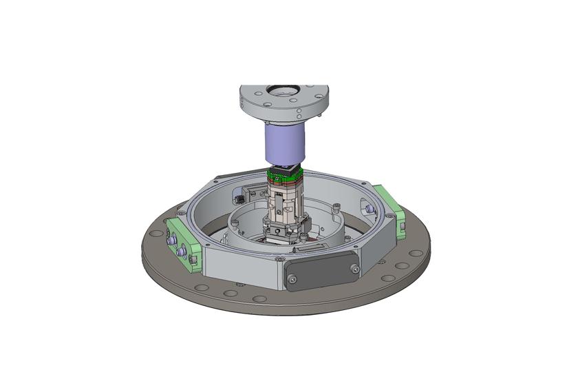 optical cryostat HV Objective and LCC Sample Holder 3