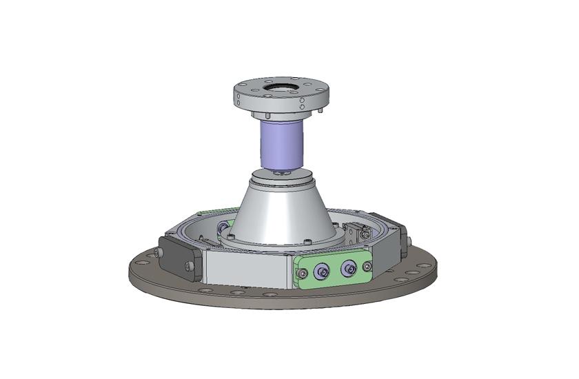 optical cryostat HV Objective and LCC Sample Holder 4
