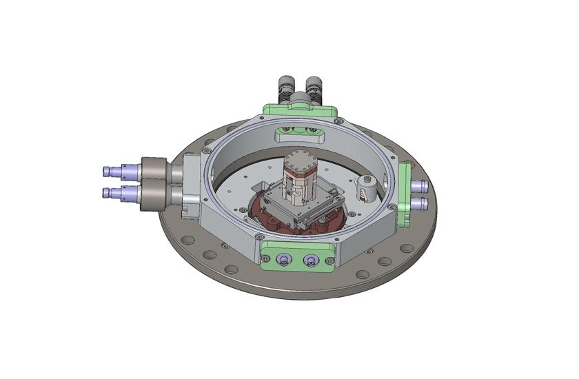 optical cryostat Large Space Shroud with 5 Windows 4