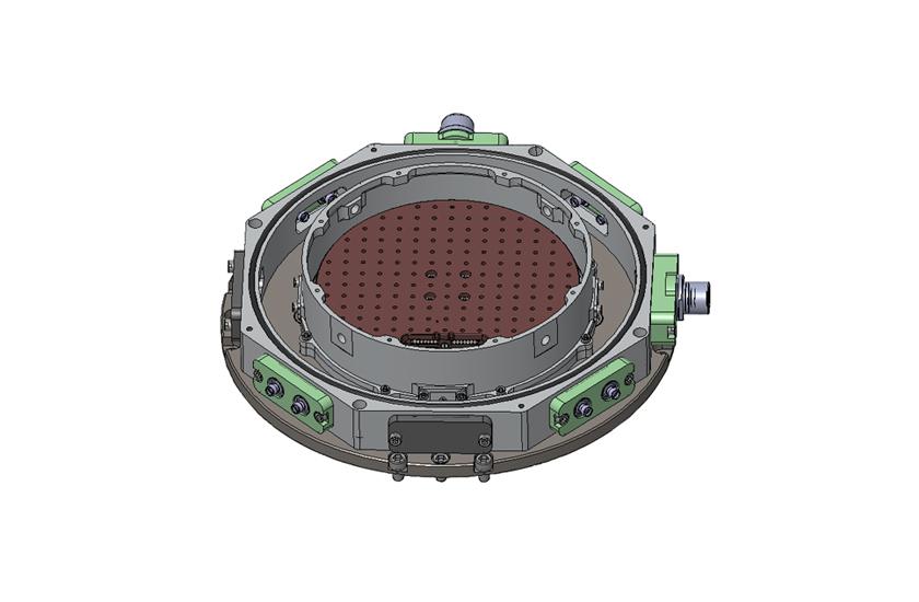 optical cryostat XXL cold plate shroud 2