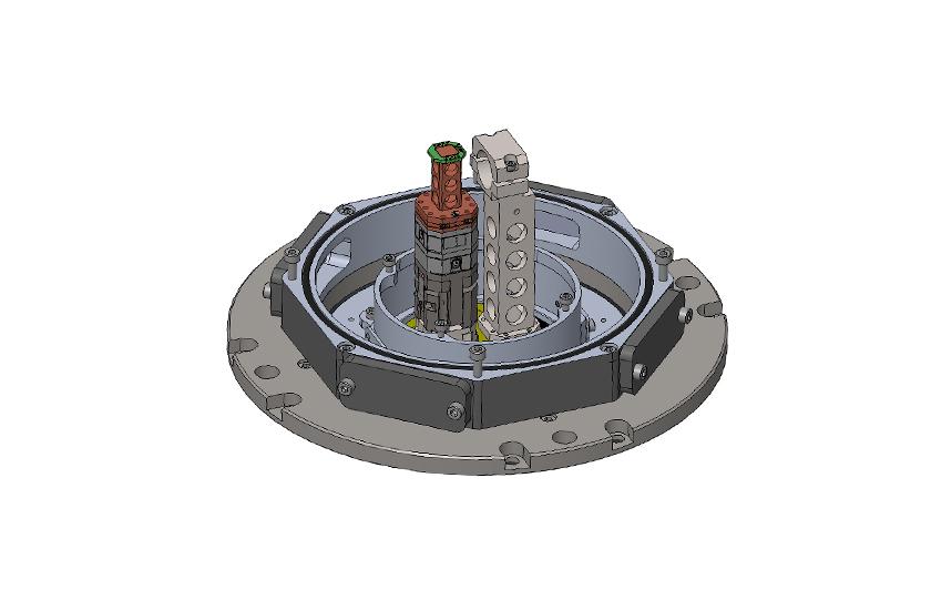 optical cryostat RT-LT Transmission cage system 1