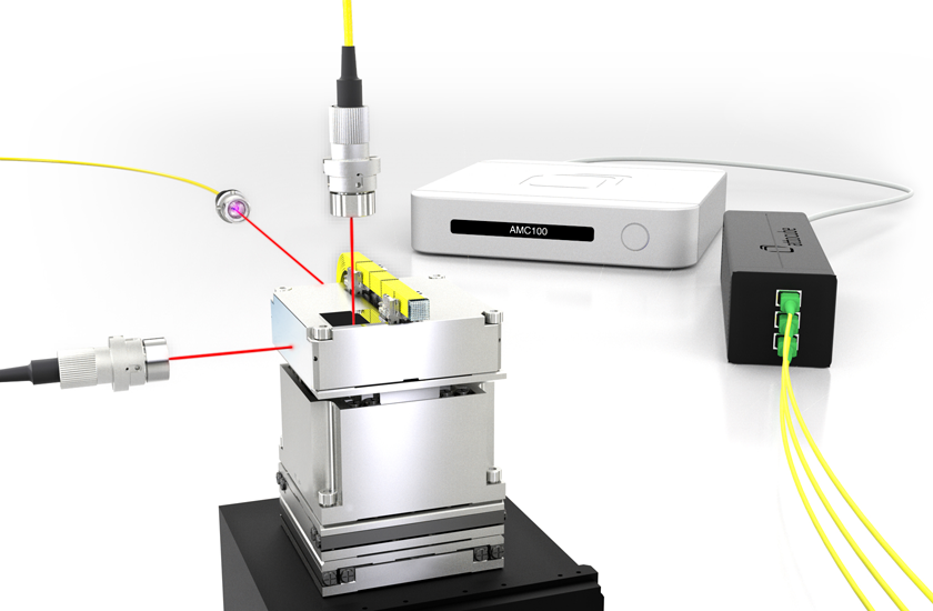 Customized Nanopositioners Interferometric Closed Loop