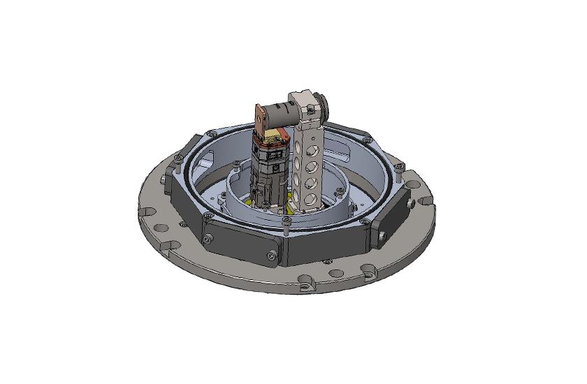 optical cryostat RT-LT Transmission cage system 2