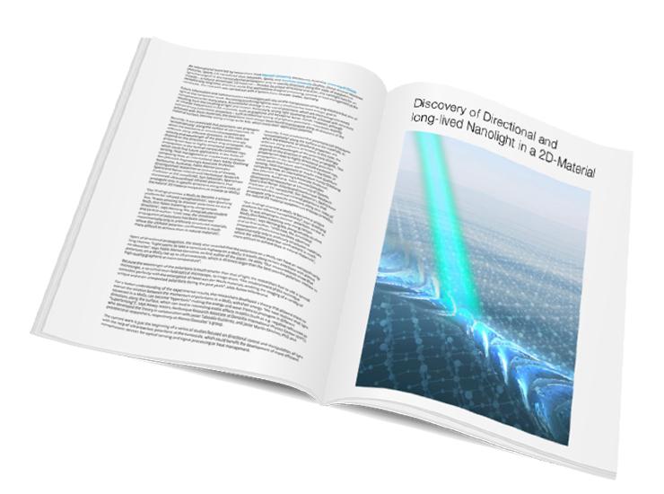 nanoscale analytics, publications, magazine