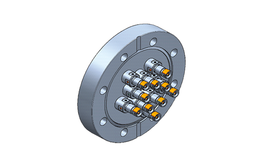 up to 12 optical channels