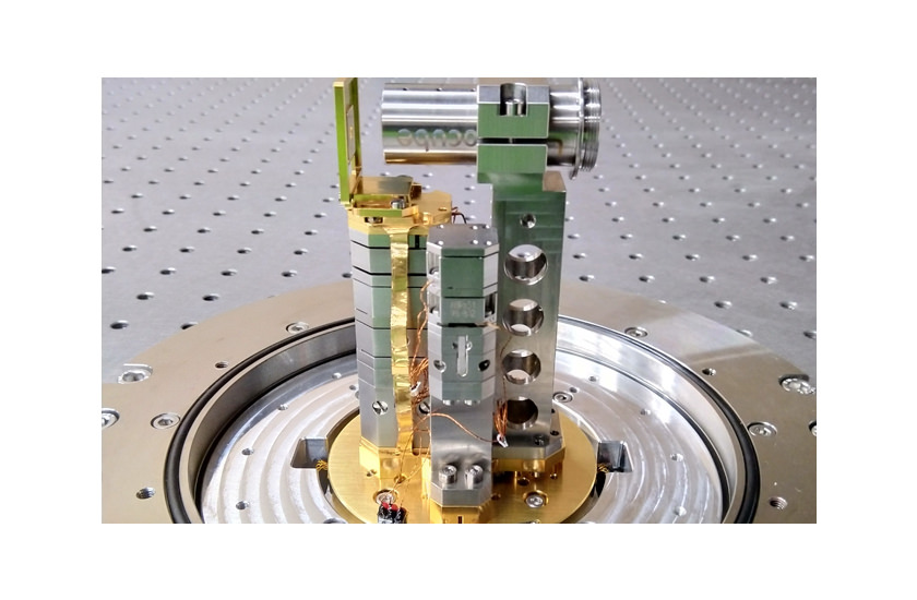optical cryostat RT-LT Transmission with extra stack 1