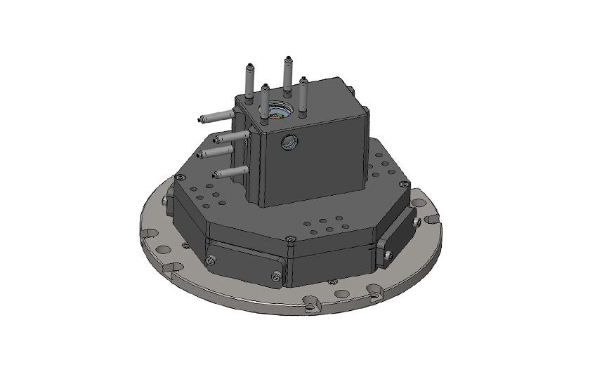 optical cryostat RT-LT Transmission cage system 3