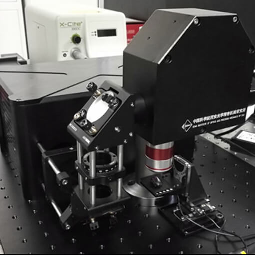 Life Science: 3D Imaging System Showing Natural Colour positioners for vacuum and ambient environment